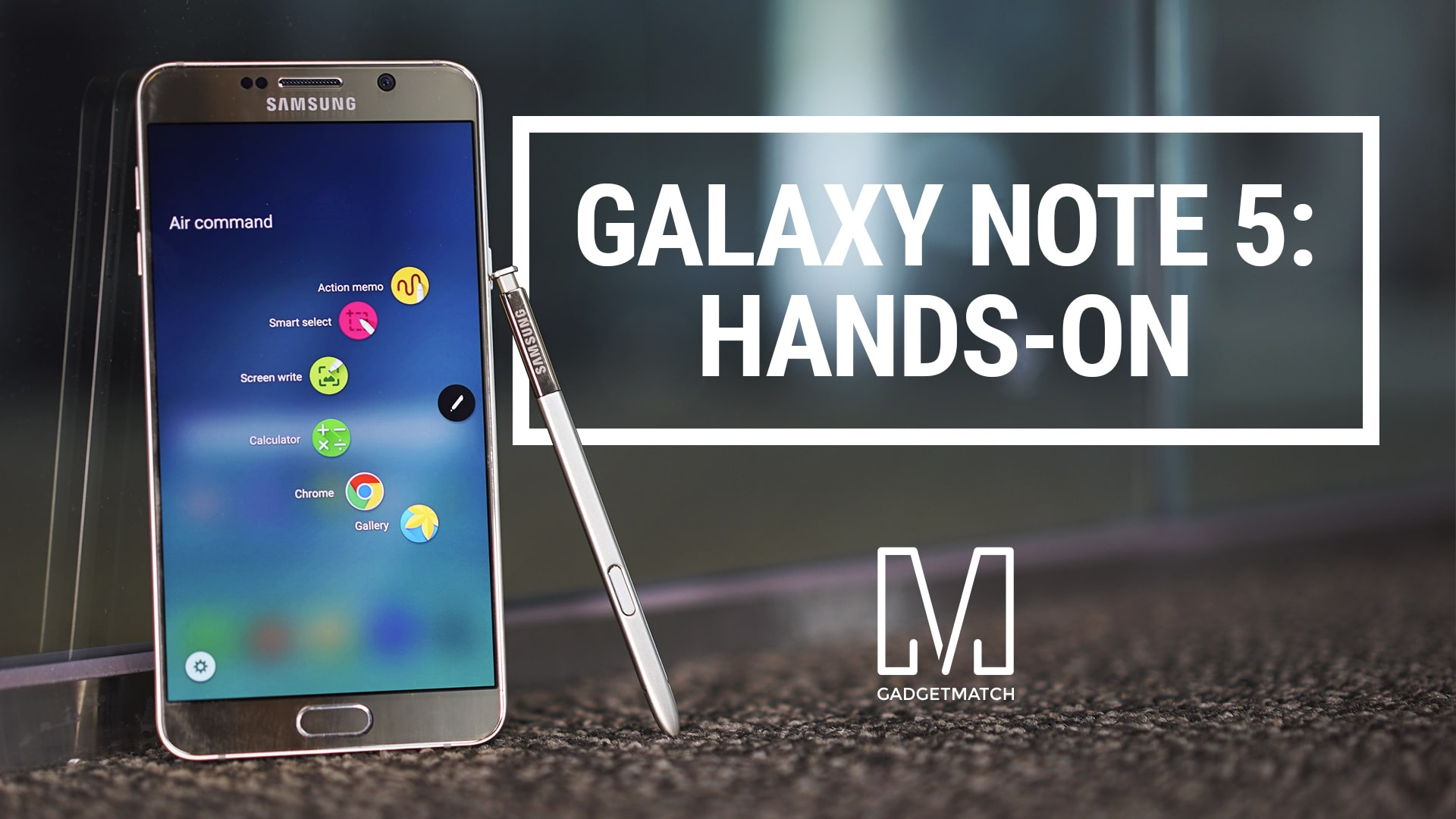 Galaxy Note 5 Hands-On