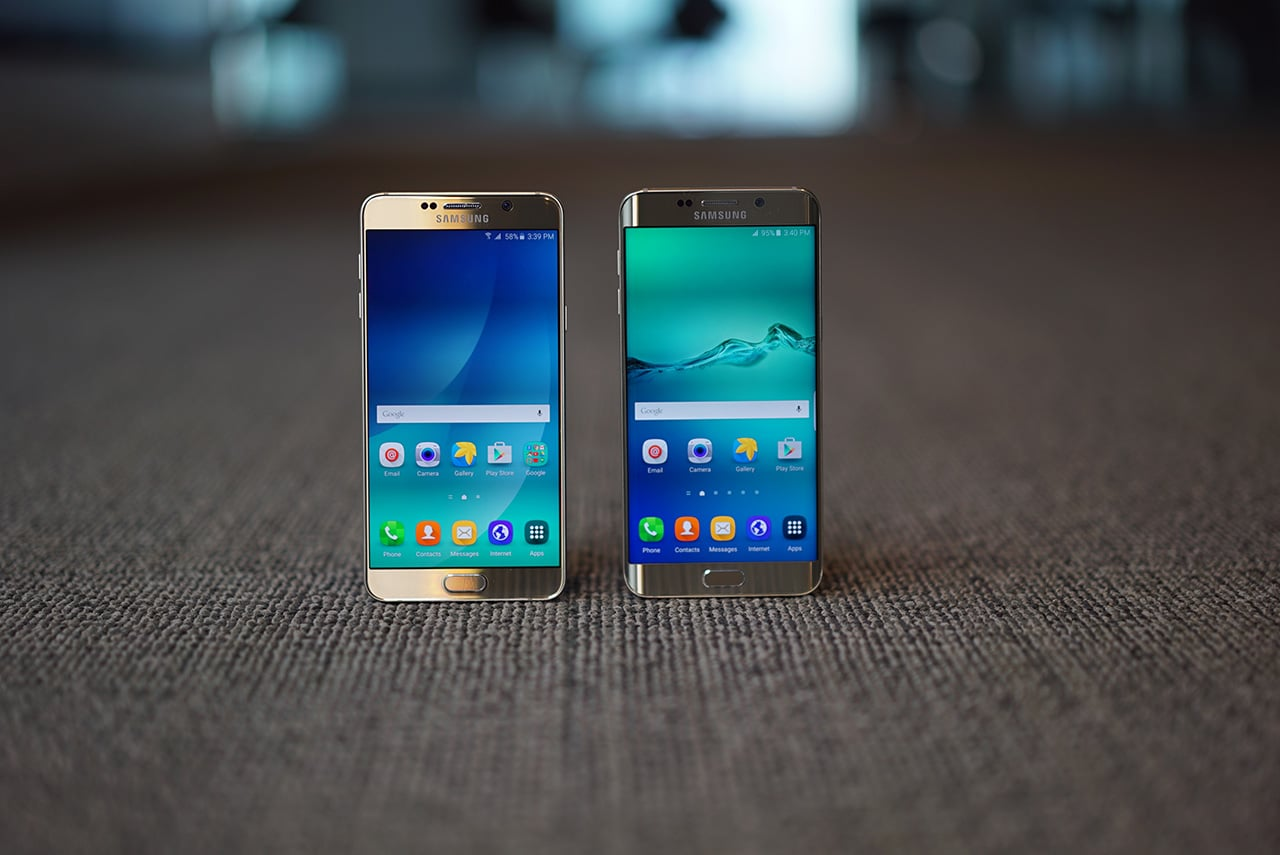 galaxy note 5 and s6 edge plus hands on photos. Black Bedroom Furniture Sets. Home Design Ideas