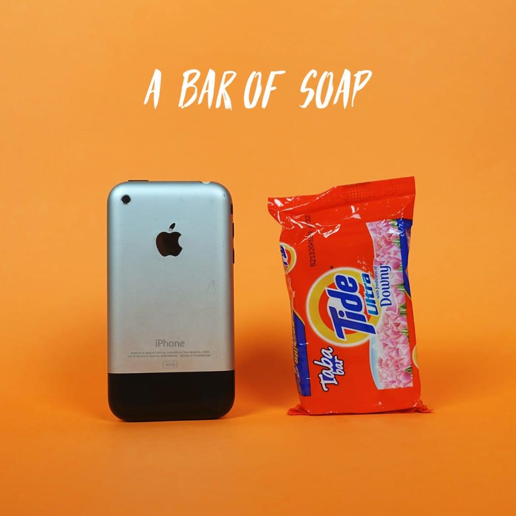 A bar of soap