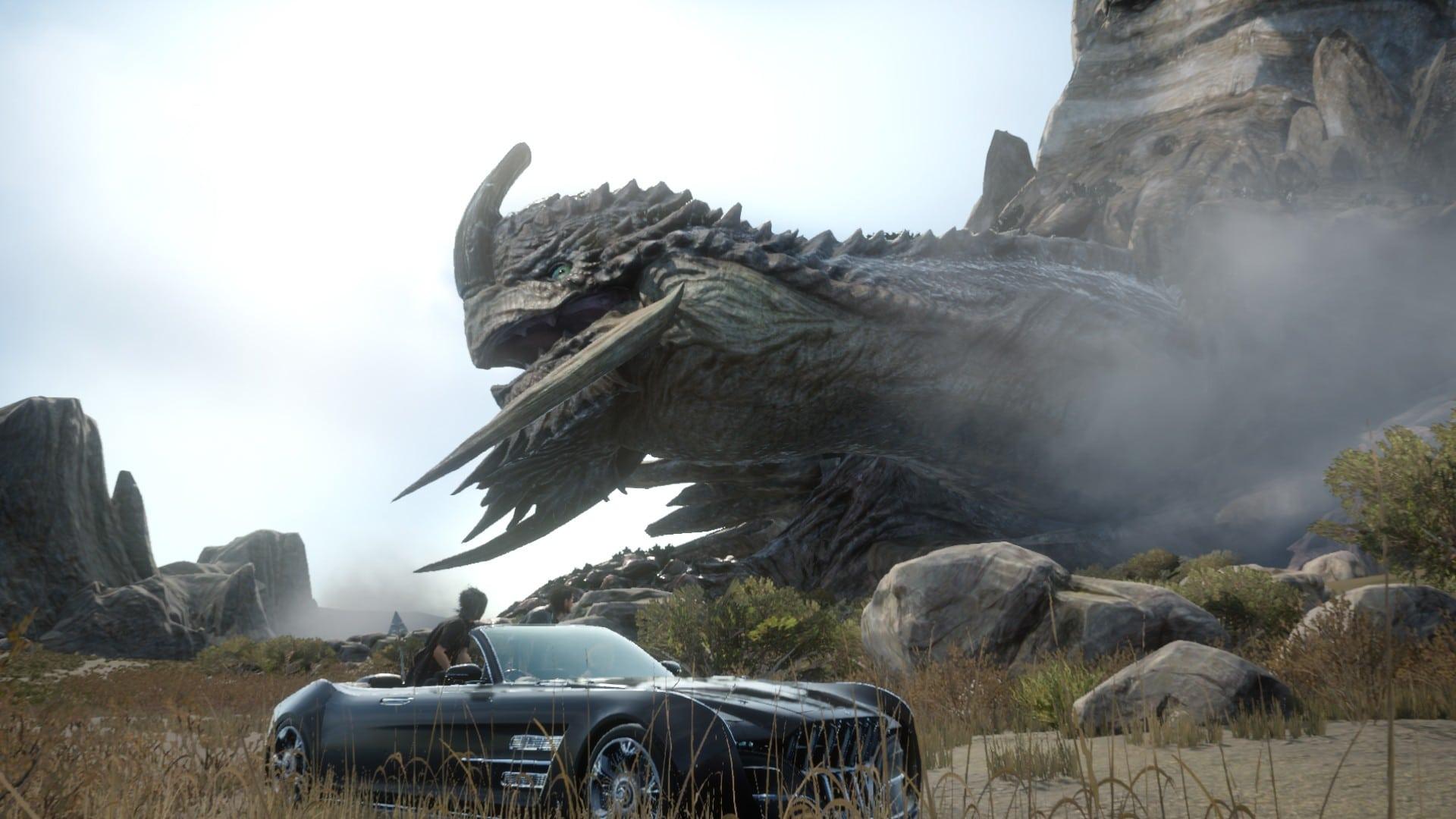 Final-Fantasy XV demo