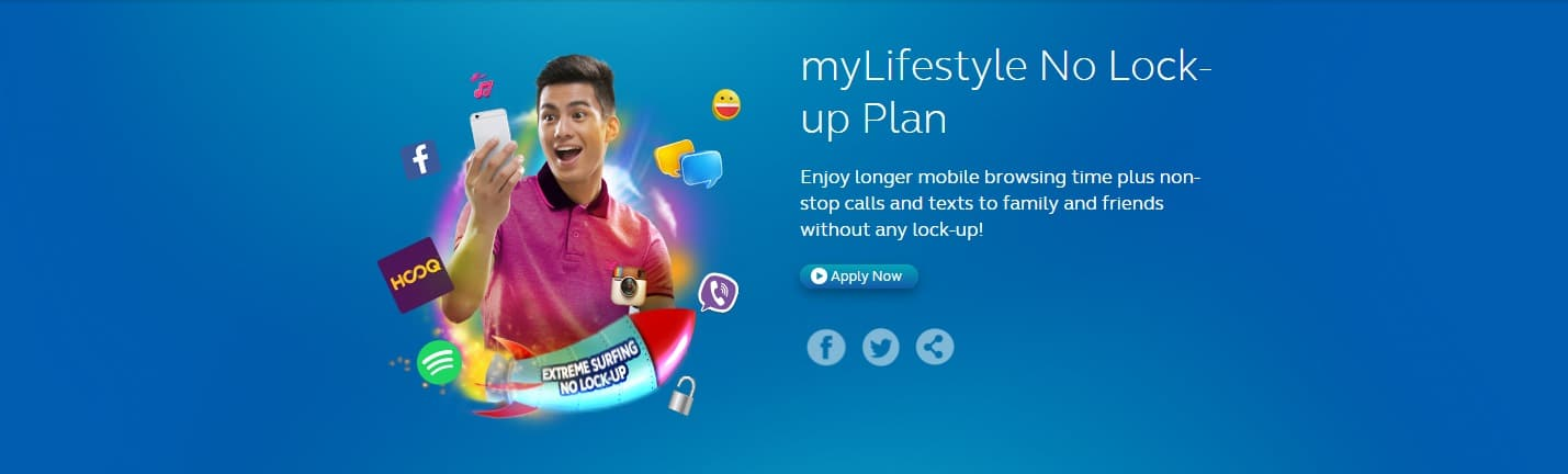 Globe baits prepaid users with no-contract data plans