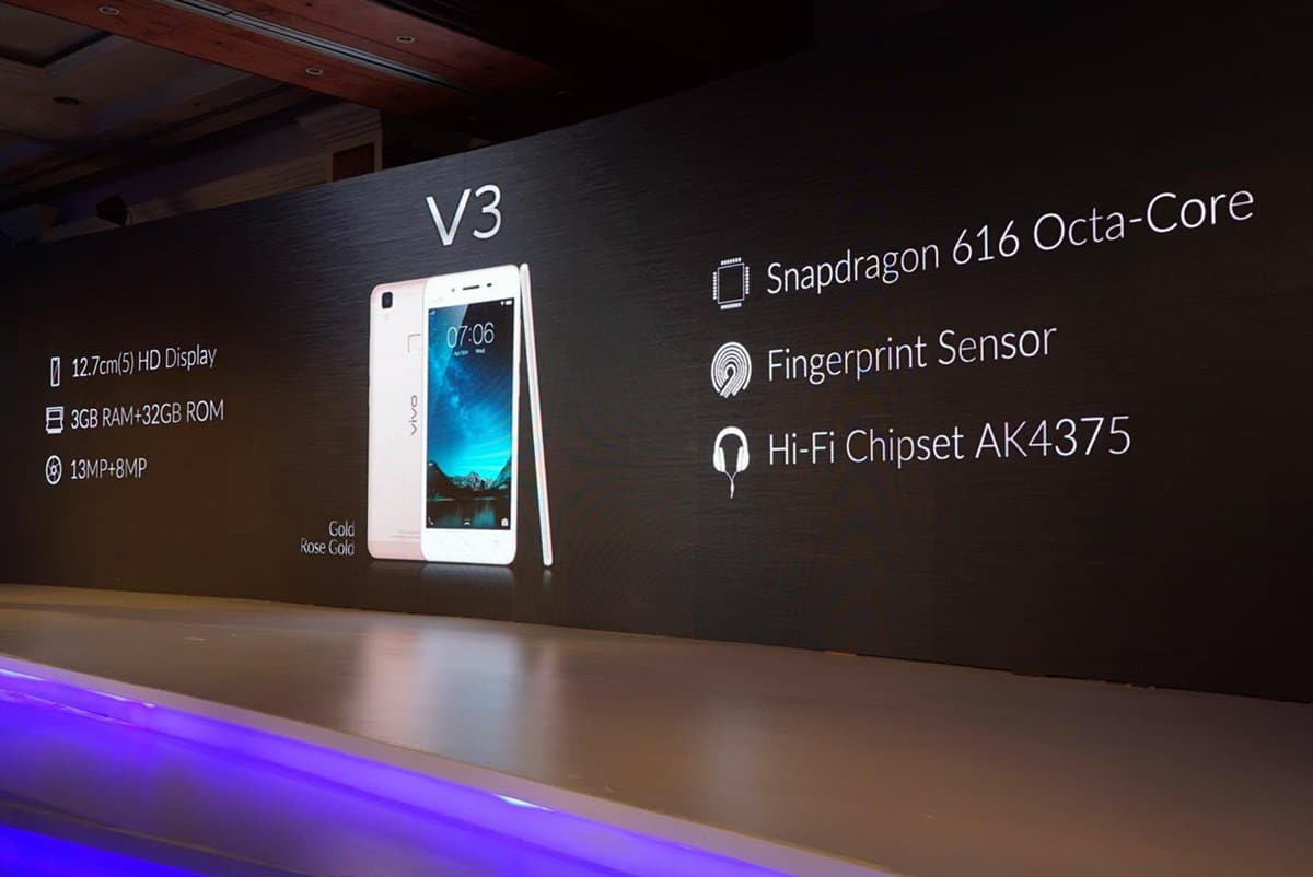 Vivo V3 India launch (2)
