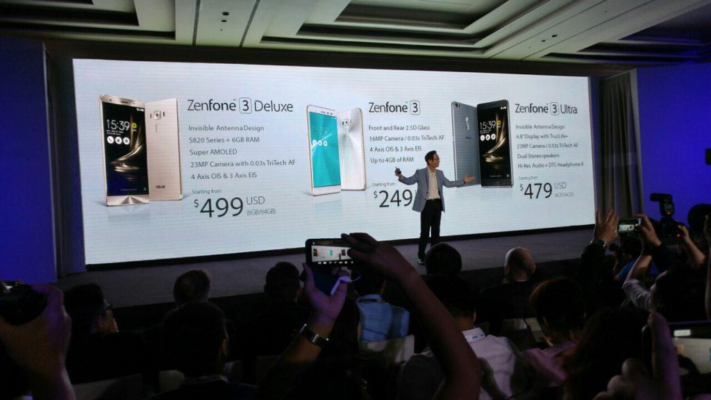 zenfone 3 launch
