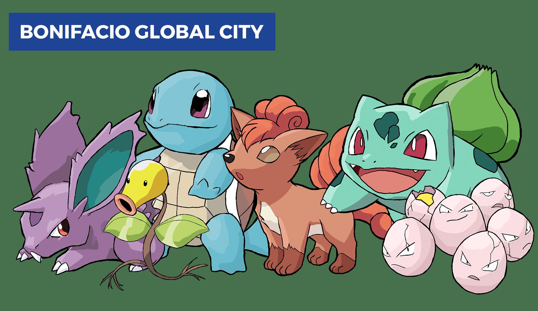 best pokemon go locations in manila - bgc