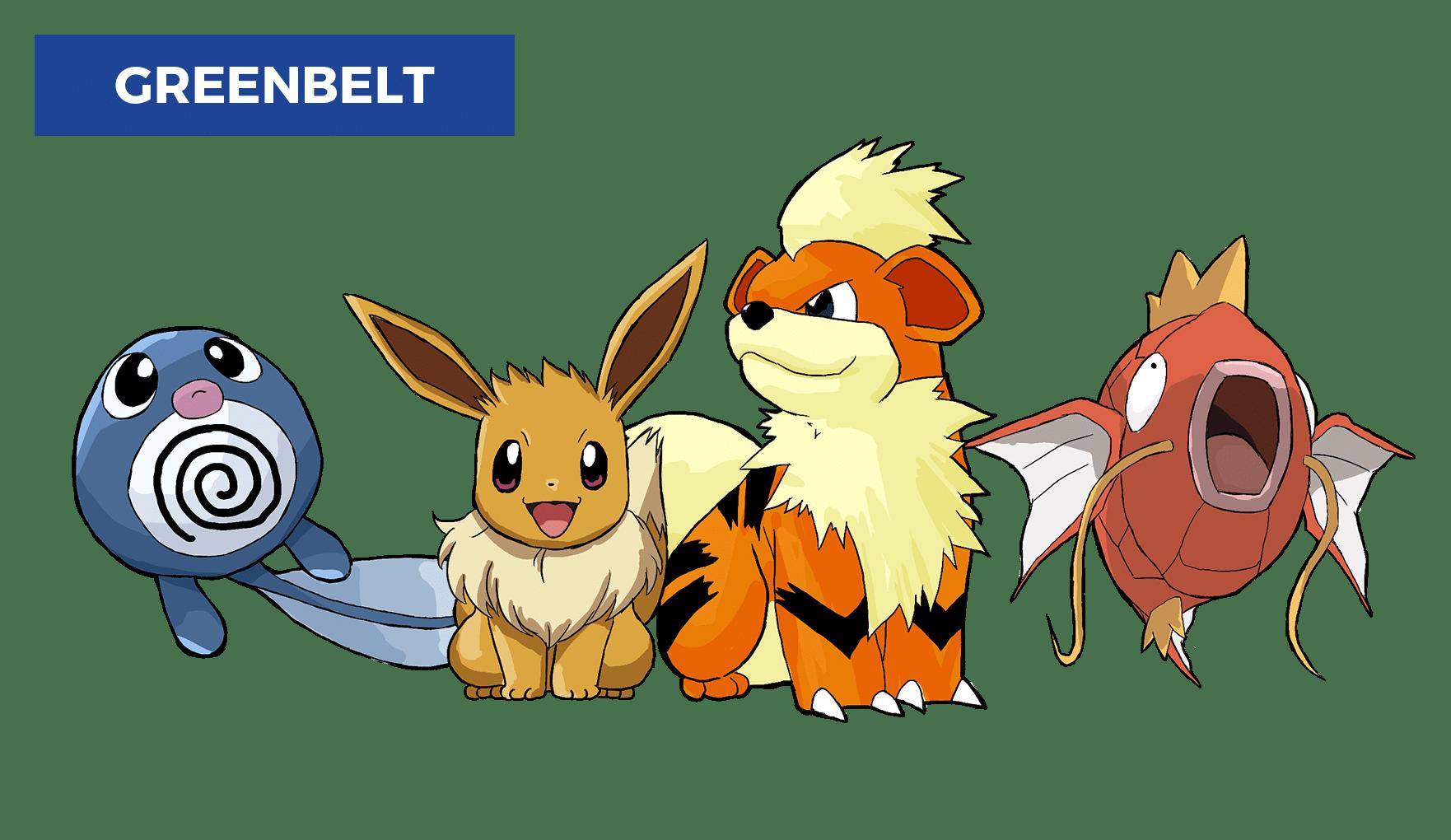 best pokemon go locations in manila - greenbelt