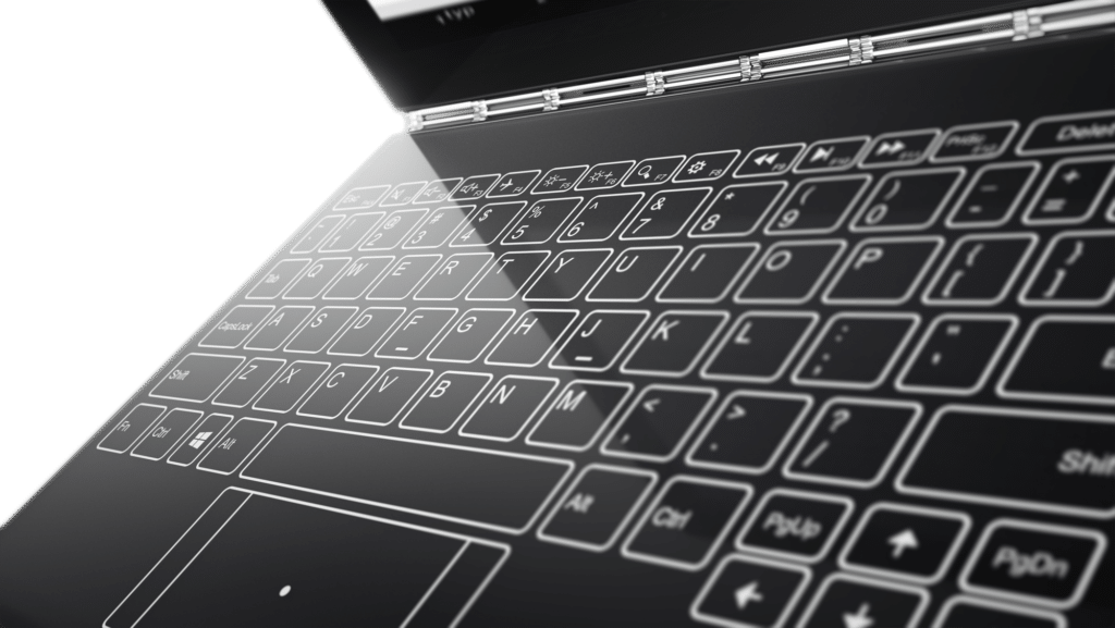 Lenovo Yoga Book keyboard