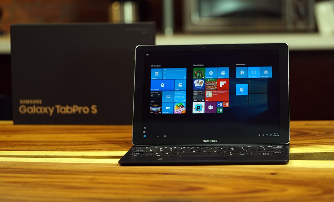 Samsung tries something new with the Galaxy TabPro S, and ...