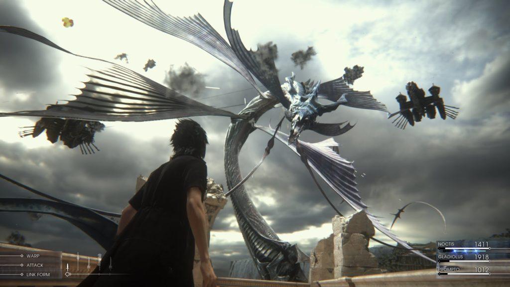 final fantaxy xv gameplay