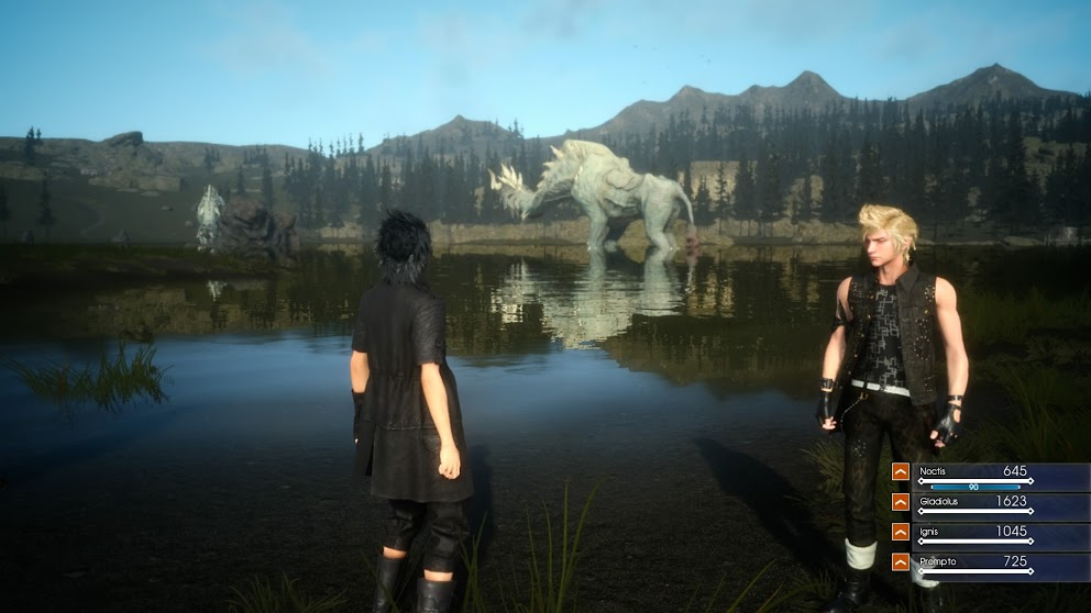 final fantaxy xv gameplay 2