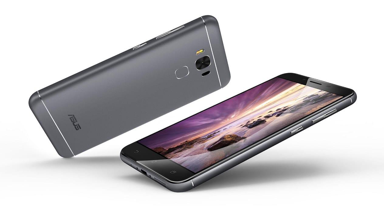 ASUS ZenFone 3 Max 5.5 top and bottom design