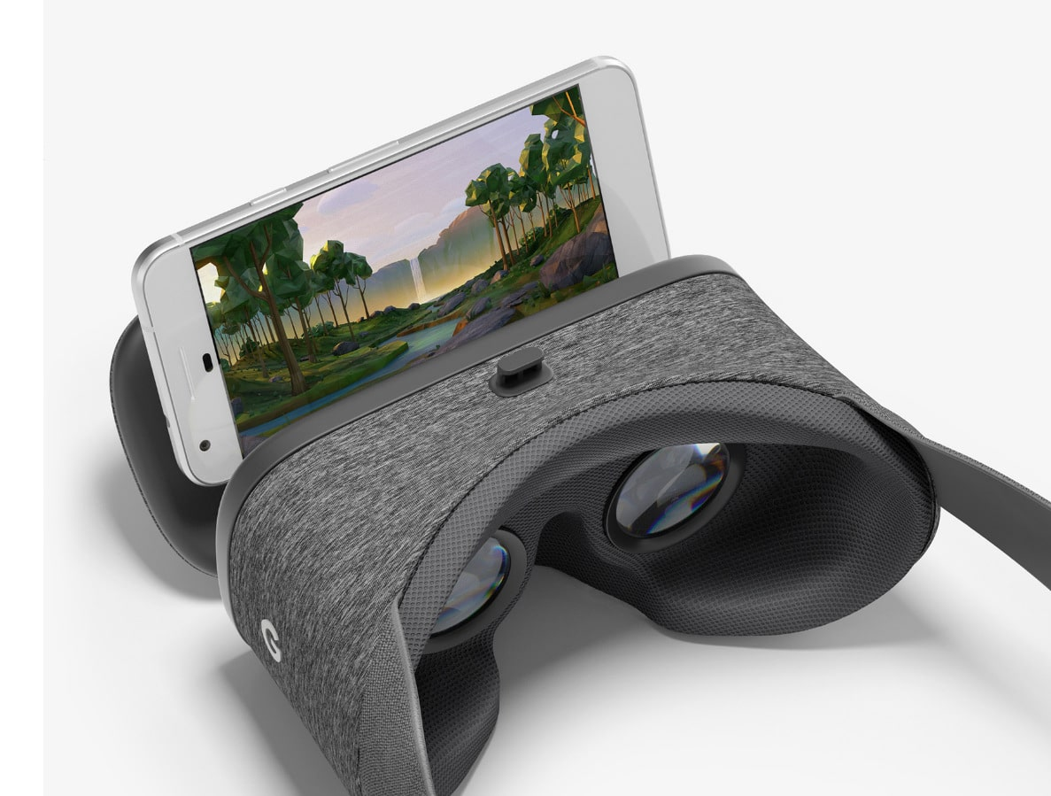 Google Pixel with Daydream View VR