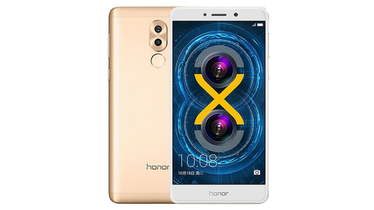 Honor 6X gold color