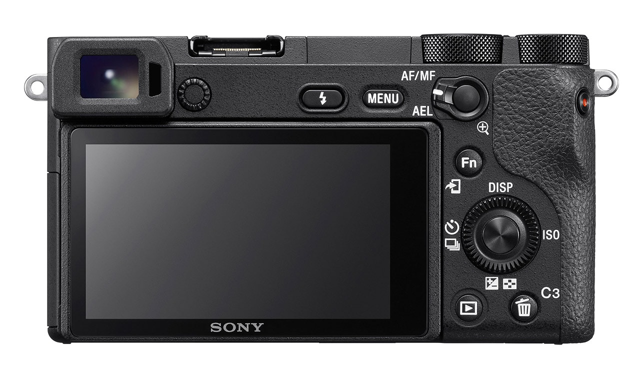 Sony A6500 back