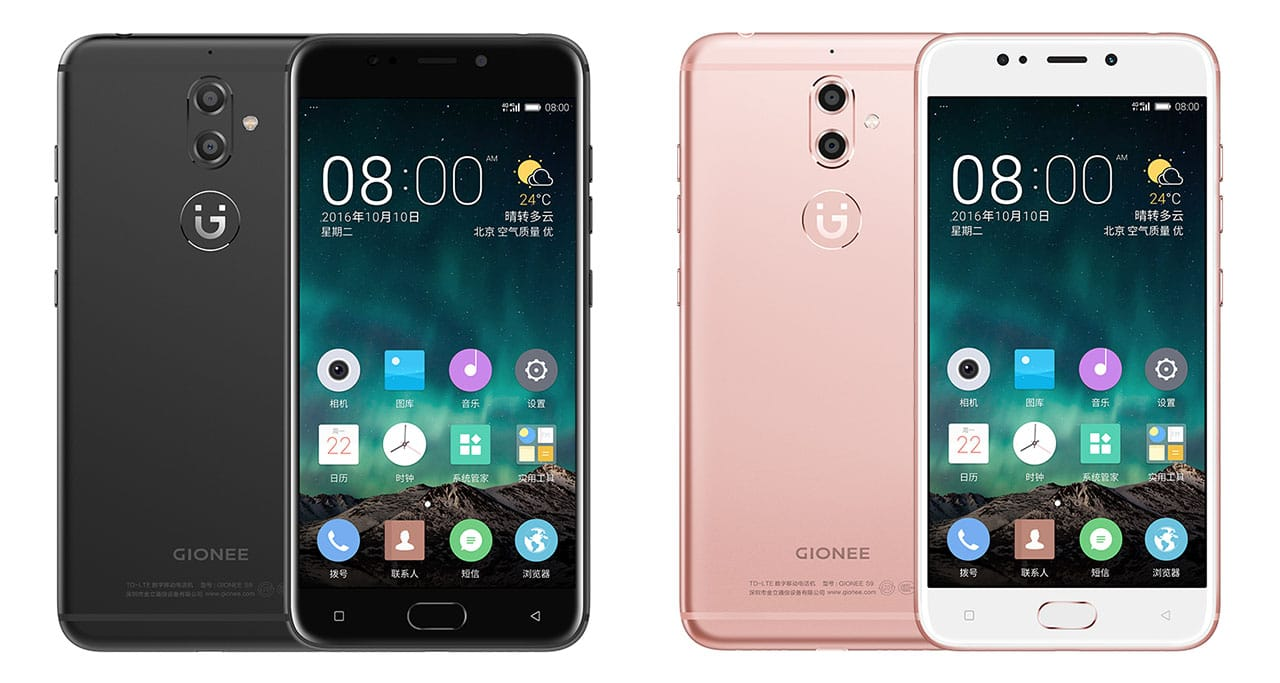 Gionee S9 colors