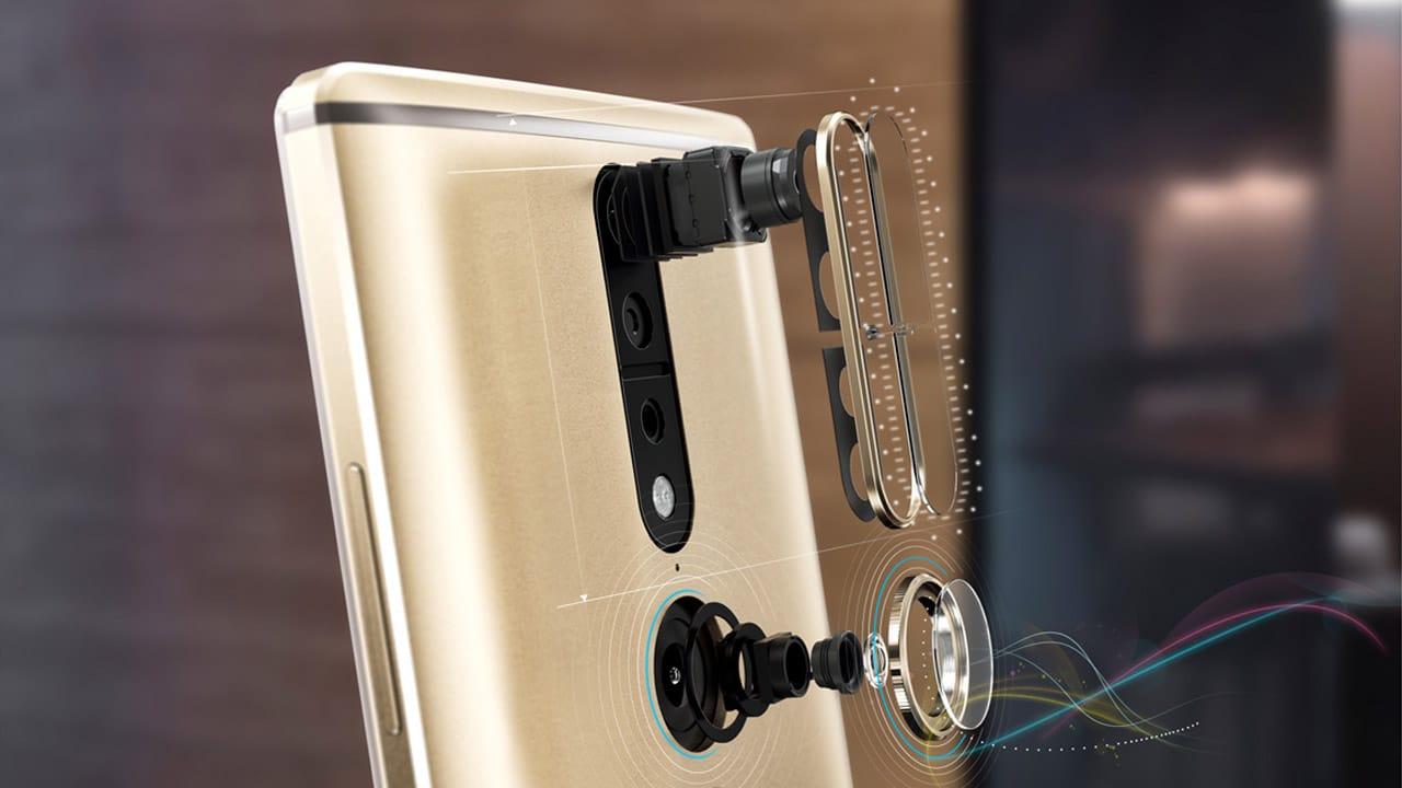 Lenovo Phab 2 Pro rear cameras