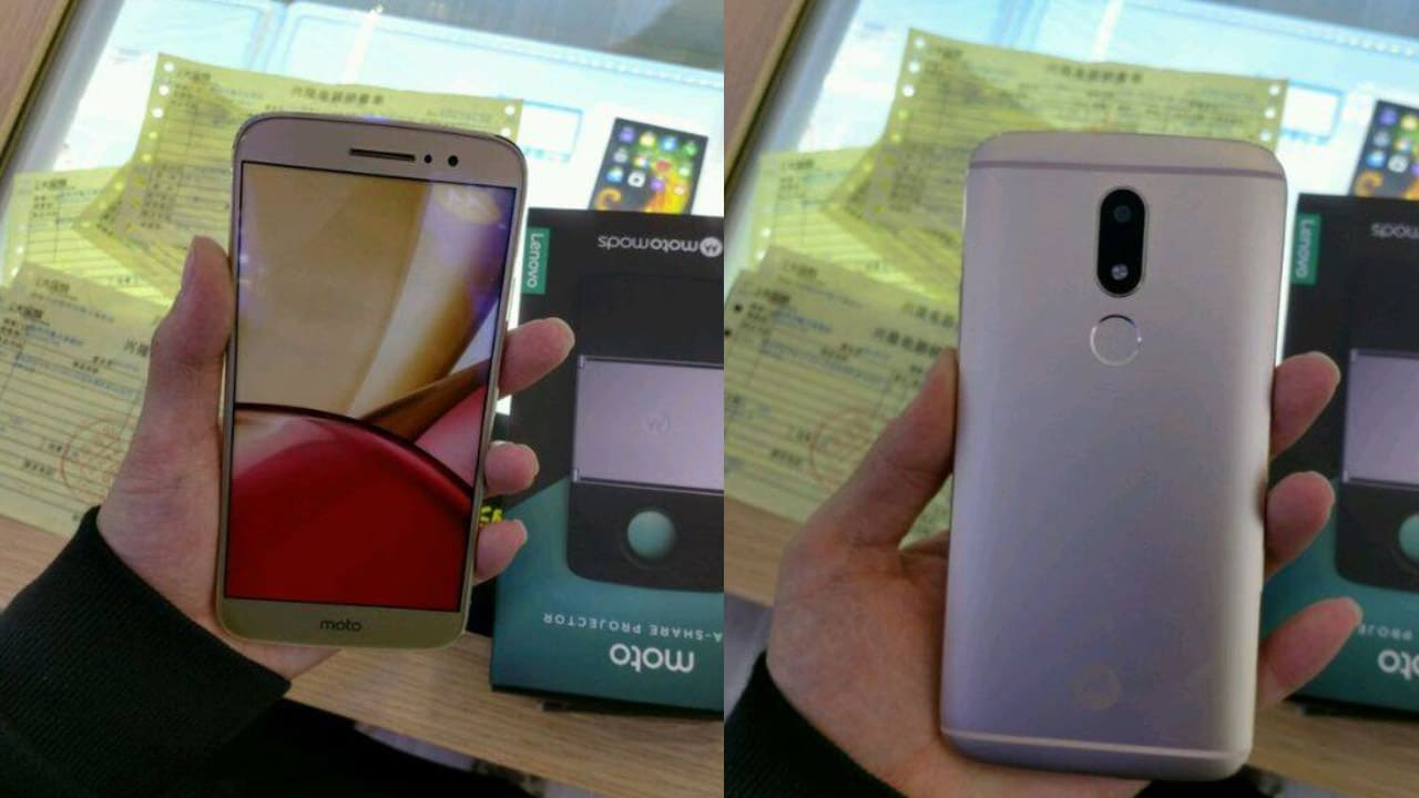 Moto M leaked photos