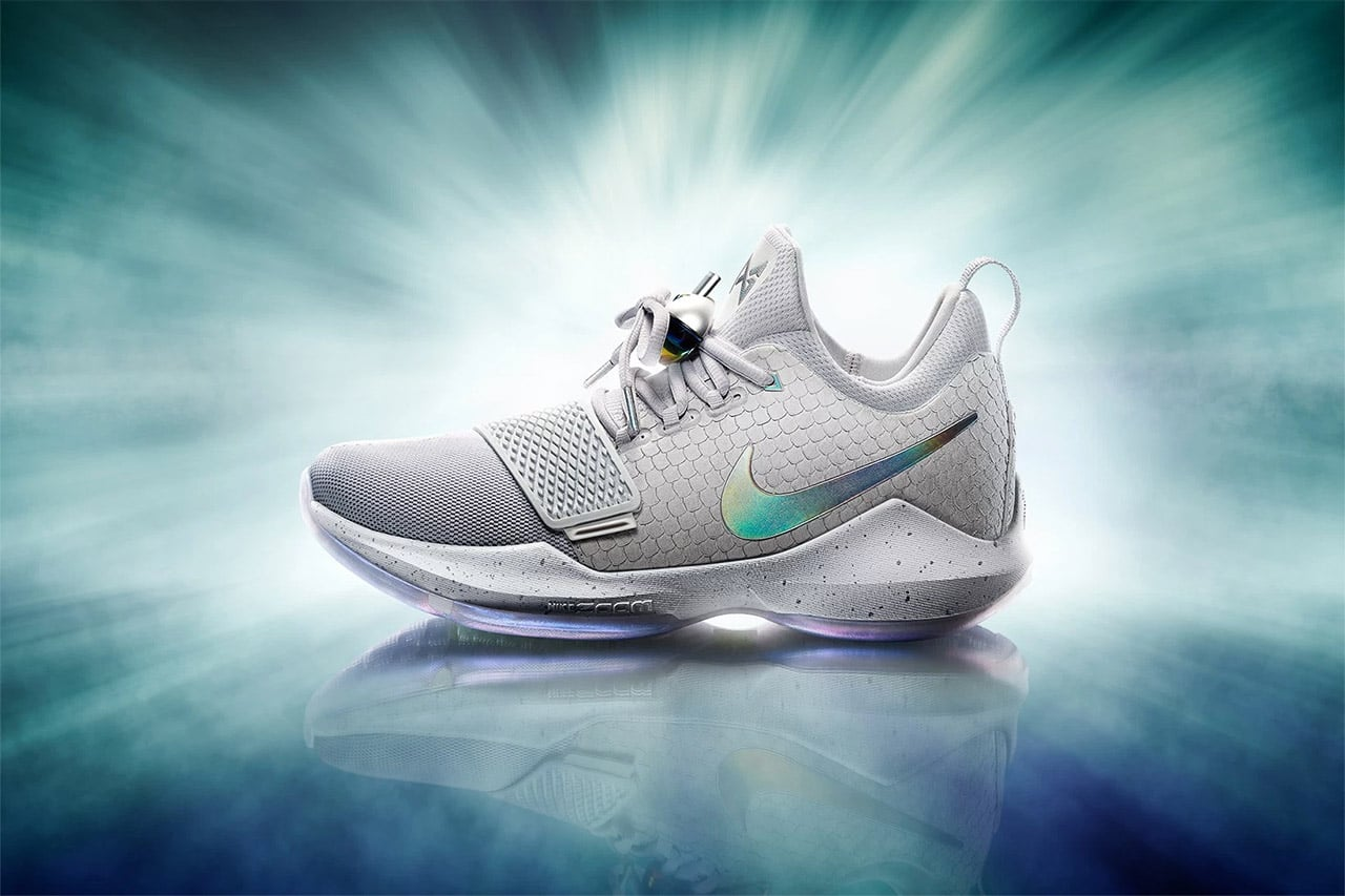 Designed by Tony Hardman, the PG1 has a Flywire loop system for a secure  fit, Zoom Air unit in the forefoot area for instant response, and  multidirectional ...