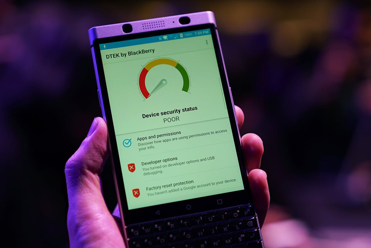 KEYone is BlackBerry's first phone in two years