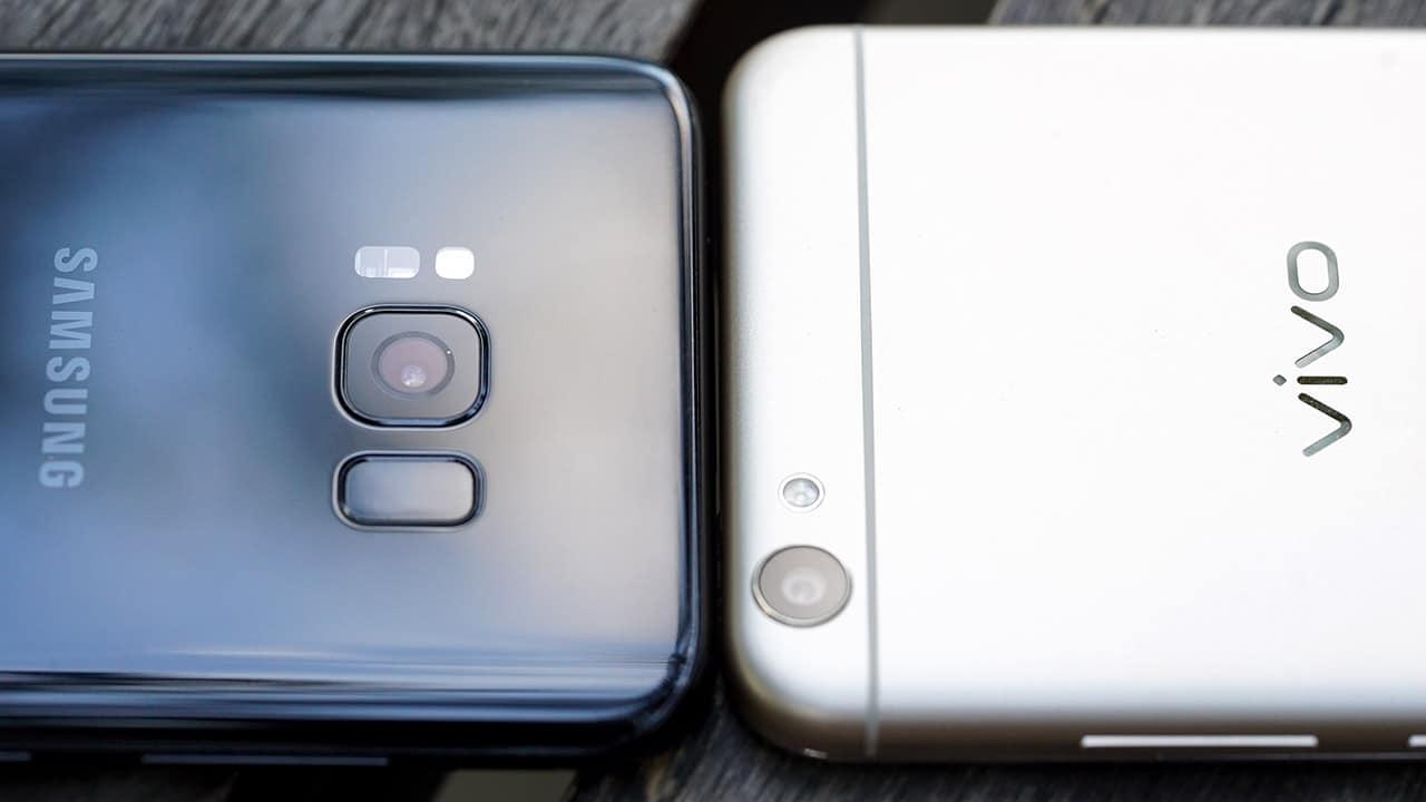 Galaxy S8 vs V5 Lite
