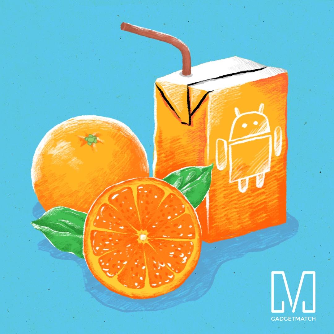 Android Orange Juice
