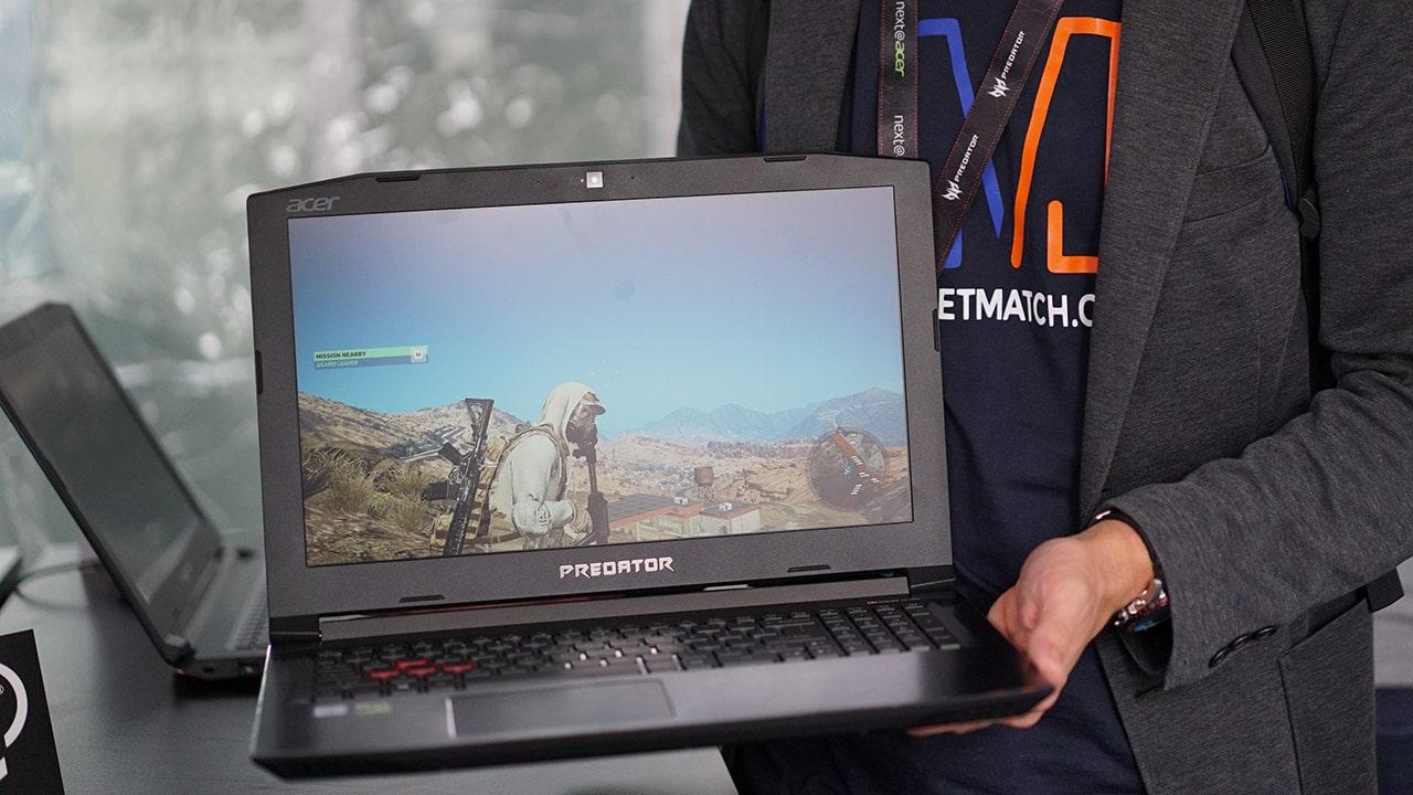 Predator's midrange Helios 300 gaming laptops allow