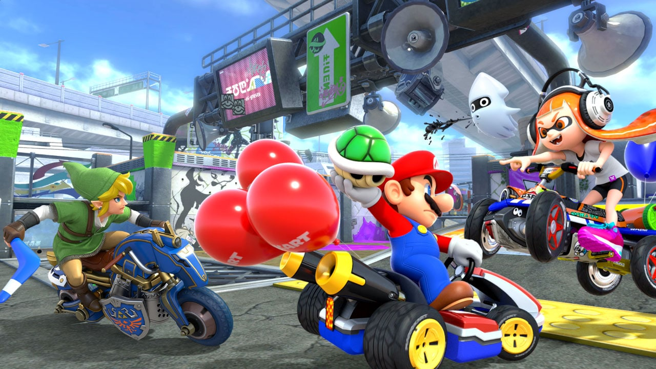 Mario Kart 8 Deluxe Review The Quintessential Switch Game