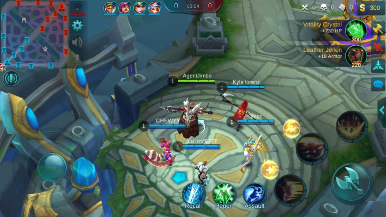 Whats the deal with mobile legends gadgetmatch no its not buttery smooth but the performance is mostly stable and the visuals are only slightly grainy characters stand out with their striking colors ccuart Images