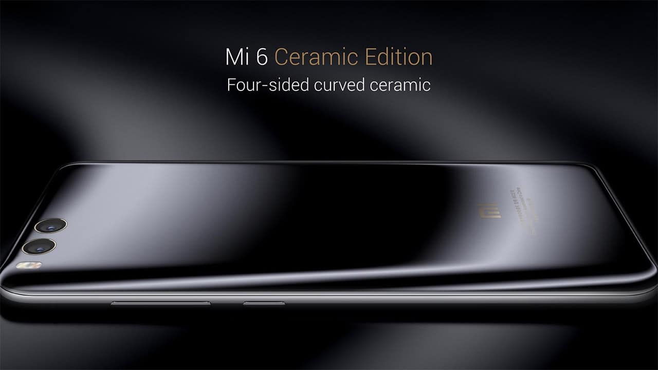 Xiaomi Mi 6 ceramic feature image