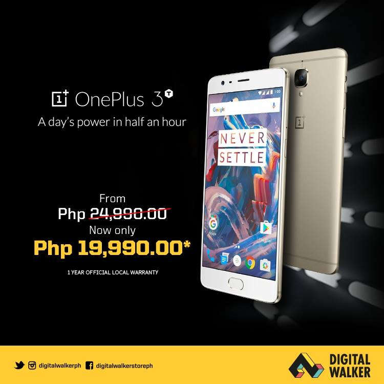 OnePlus 3T gets major price cut in the Philippines - GadgetMatch