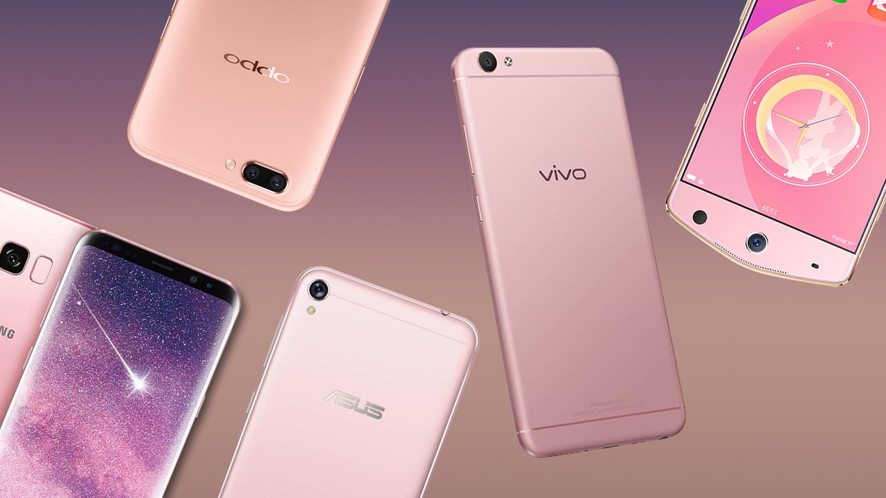 Top 8 Prettiest Pink Smartphones