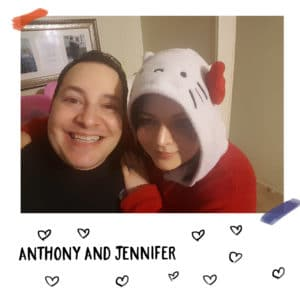The happy Hello Kitty loving couple: Anthony and Jennifer Martino