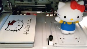 More Hello Kitty inside a custom Hello Kitty PC case mod!