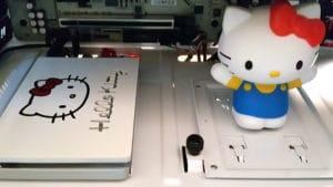 More Hello Kitty inside a custom Hello Kitty PC case mod!