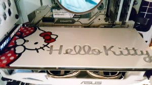 Inside a custom Hello Kitty PC!