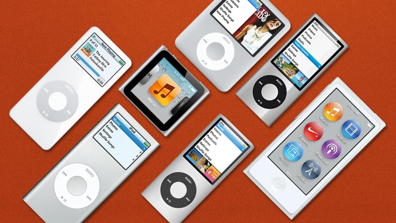 iPod nano models