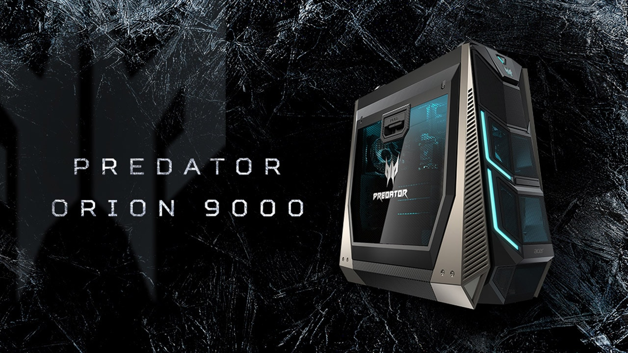 Acer unleashes Predator Orion 9000 gaming PC and X35 monitor