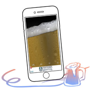 This app simulates beer on your smartphone and allows you to chug it down, complete with sound effects.