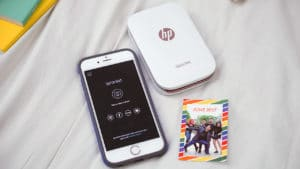 The HP Sprocket comes with a free Sprocket app for your phone