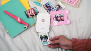 Printing photos with the HP Sprocket