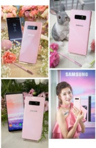 Samples of the Samsung Galaxy Note 8