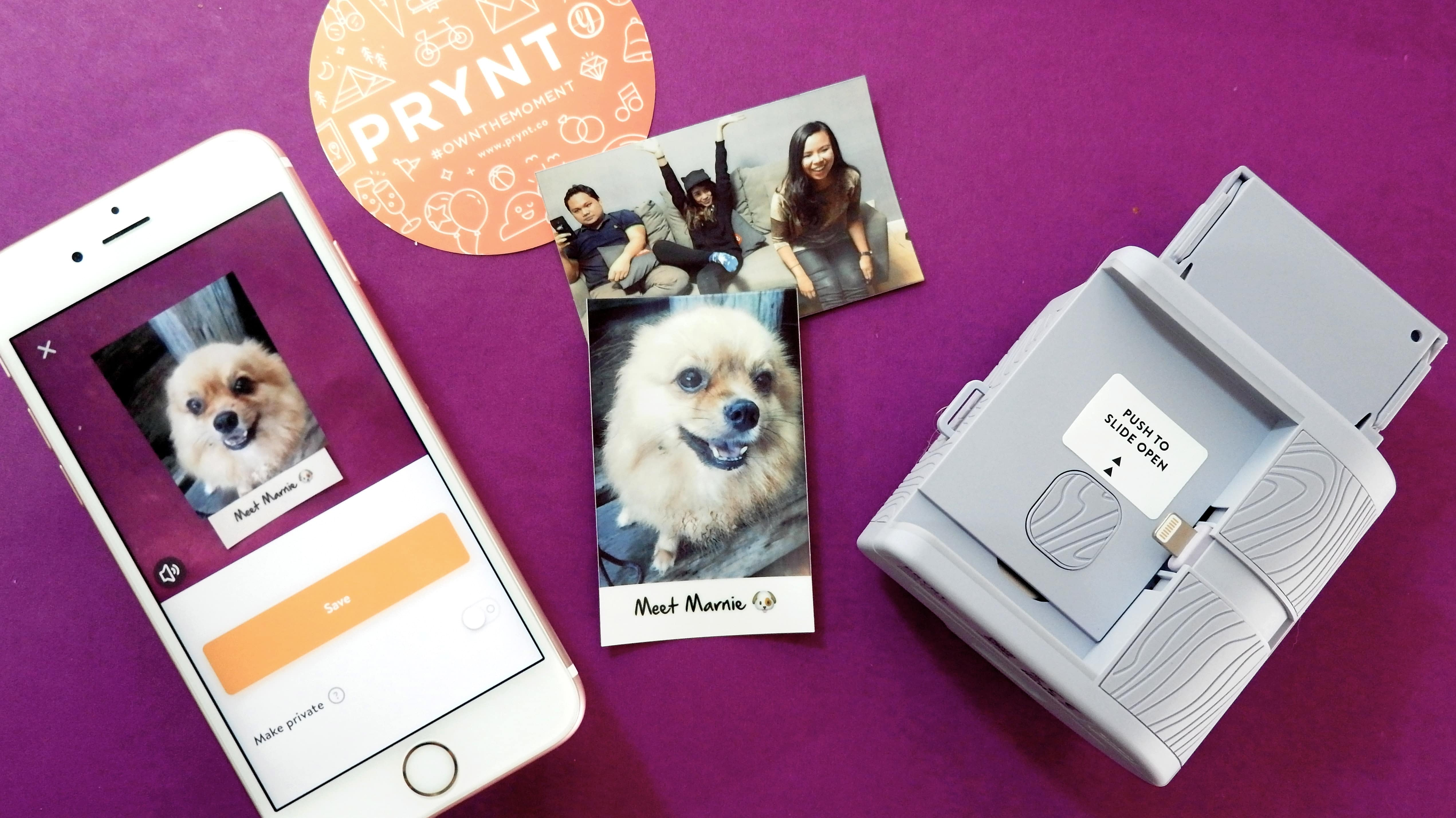free shipping 58338 98895 Prynt Pocket unboxing and review: A printer that prints videos ...
