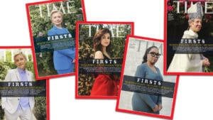 TIME Magazine covers shot from iPhone