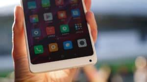 Xiaomi Mi Mix 2 Special Edition bottom camera