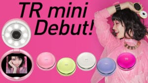 Casio TR mini selfie camera colors.
