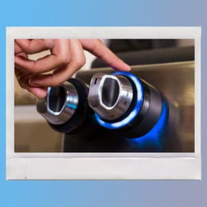 Inirv React stove dial