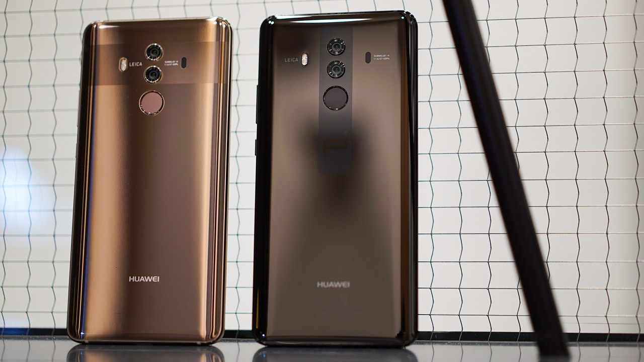 Huawei Mate 10 Pro and Porsche Design officially land in the US