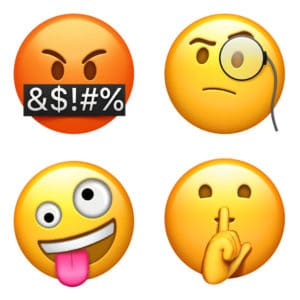 emotion Emojis come to Apple iOS 11.1
