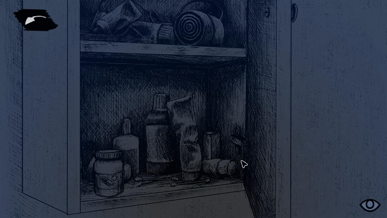 medicine cabinet, Indygo game