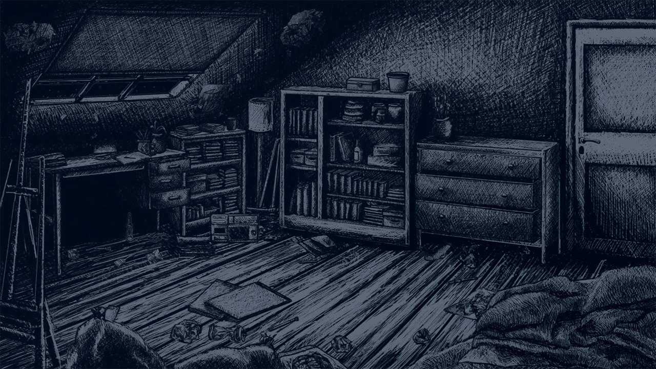 Thomas' workshop, Sketched bedroom, Indygo workshop