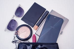 ASUS ZenPower Slim fits in my make up kit